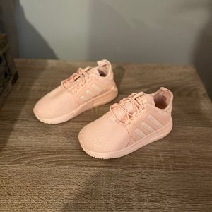 Pink Adidas X_PLR sneakers